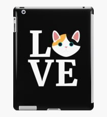 I Love My Japanese Bobtail Cat T-Shirt Cat Lover Gift Tee iPad Case/Skin