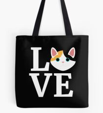 I Love My Japanese Bobtail Cat T-Shirt Cat Lover Gift Tee Tote Bag