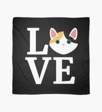 I Love My Japanese Bobtail Cat T-Shirt Cat Lover Gift Tee Scarf