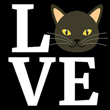 I Love My Korat Cat T-Shirt Cute Korat Cat Lover Gift Tee by davdmark