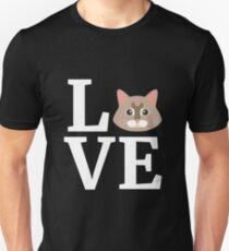 I Love My Maine Coon Cat T-Shirt Cute Cat Lover Gift Tee Unisex T-Shirt