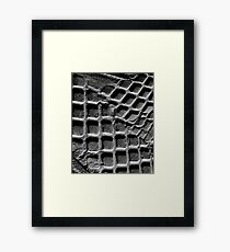 iPad Case. Galaxy Square. Framed Print