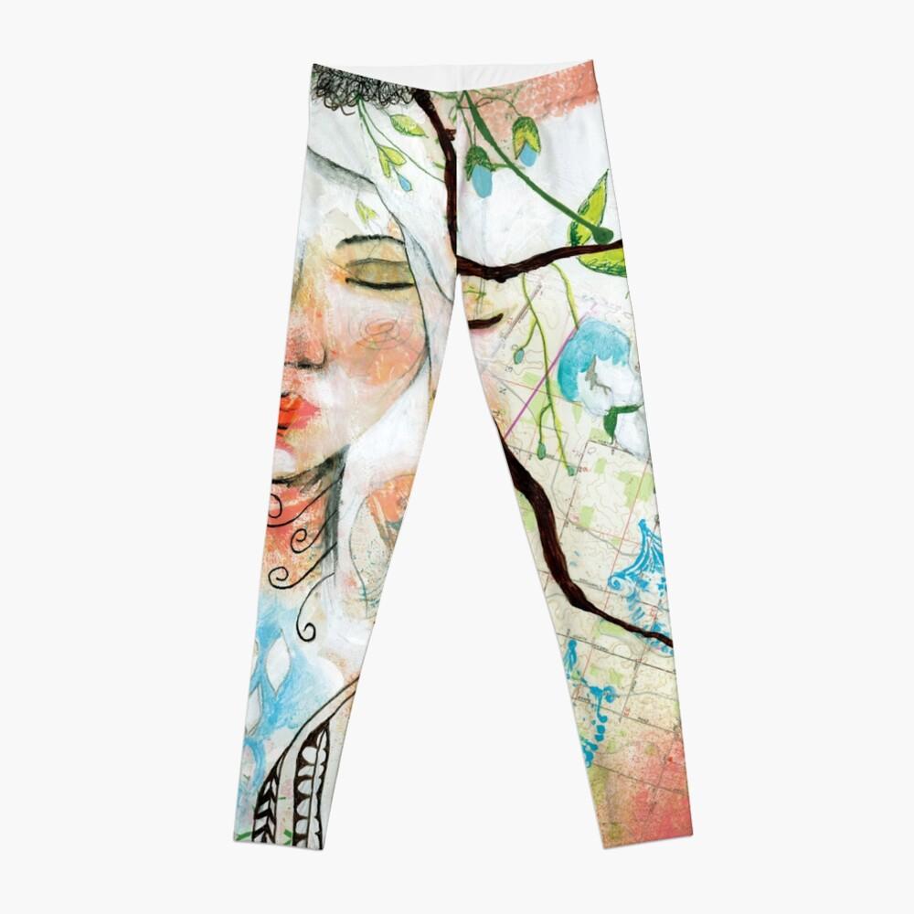 Wild Woman Seeker Leggings Front