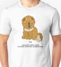 Chinese Zodiac Tee--Year of the Dog Unisex T-Shirt
