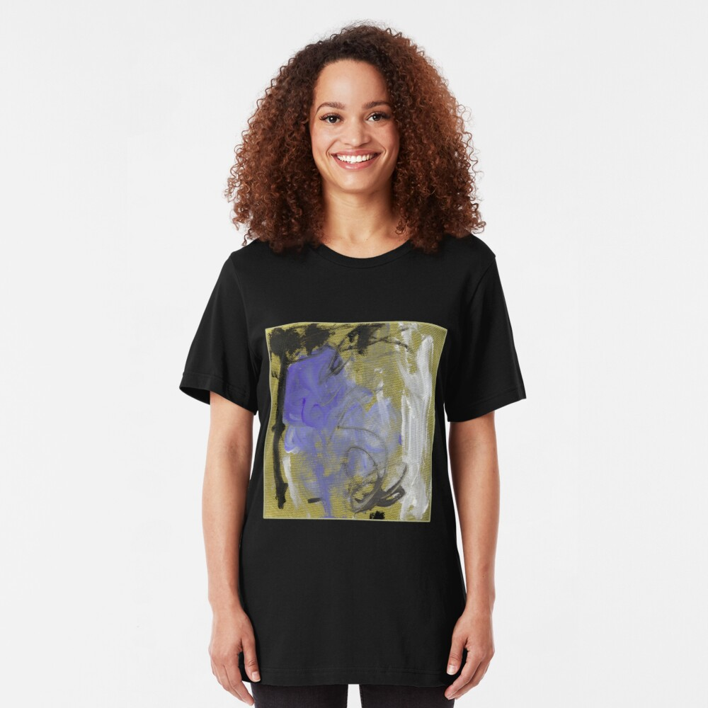 Abstract before Christmas II  Slim Fit T-Shirt