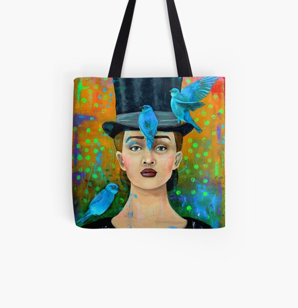 The Bird Whisperer All Over Print Tote Bag