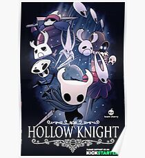 Hollow Knight inspirierte Malerei Poster
