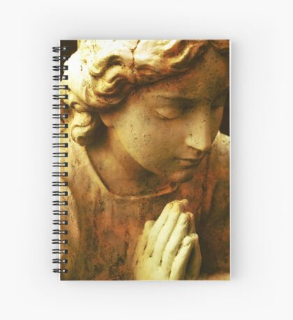 Praying Angel Spiral Notebook