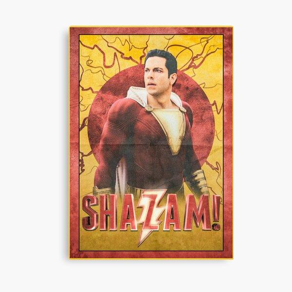 Shazam! Film Poster Canvas Print