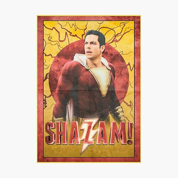 Shazam! Film Poster Photographic Print
