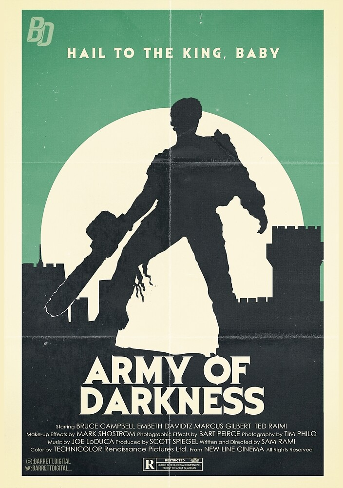 Army Of Darkness Poster by BarrettDigital