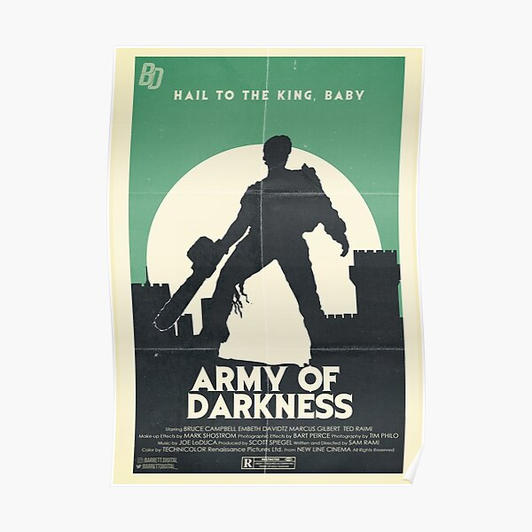 Army Of Darkness Poster Poster