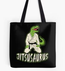 Jiu Jitsu Martial Art Dinosaur Fighter Gift Tote Bag