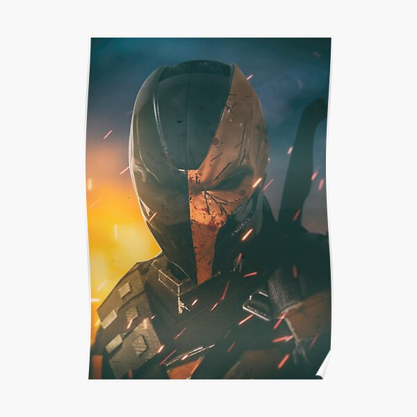 Deathstroke DCEU Poster Poster