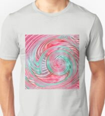Importance of twisted circle waves Slim Fit T-Shirt