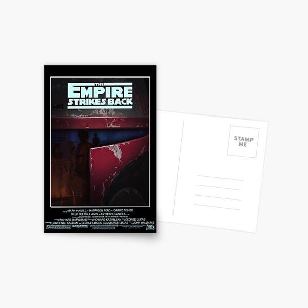 "FAN ART: ""The Empire Strikes Back"" Poster Postcard"