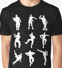 Dance Fortnite Black  Graphic T-Shirt