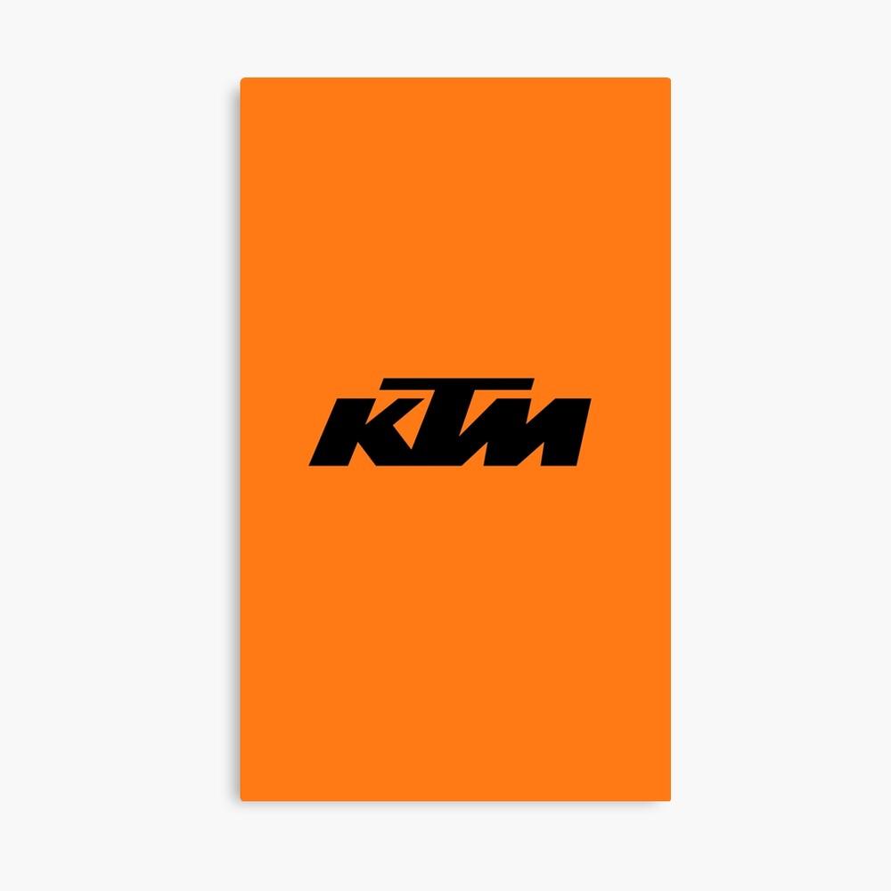 KTM Racing Leinwanddruck