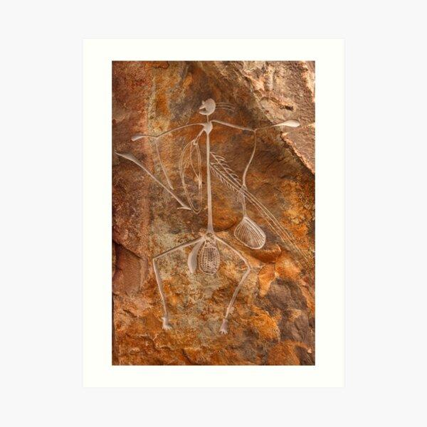 Spirit Warrior Art Print