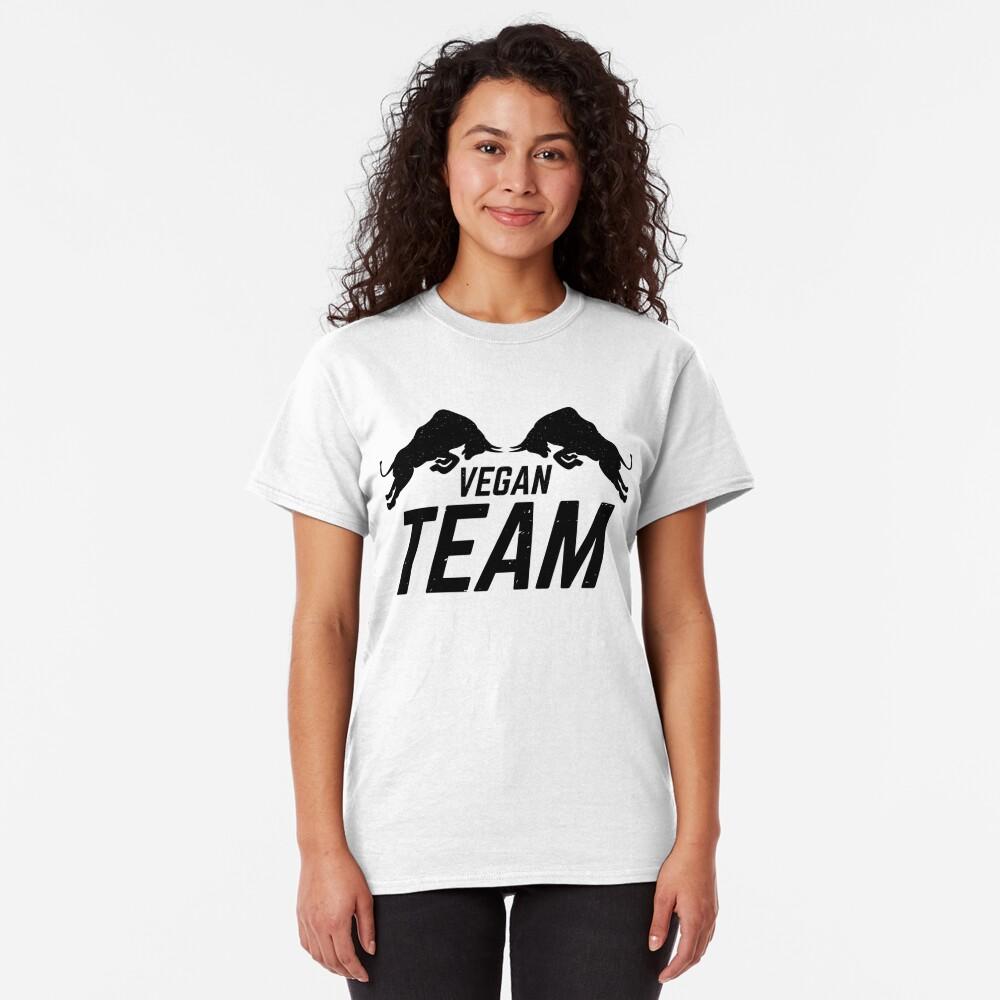 Vegan Team Classic T-Shirt