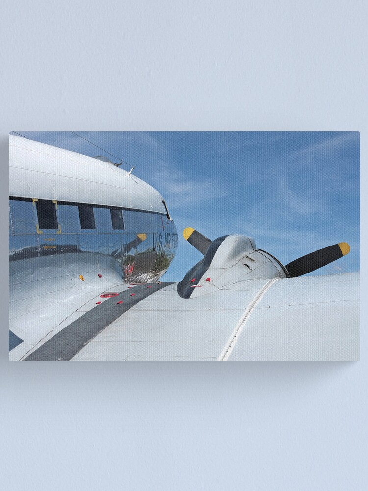 Alternate view of C-47 Skytrain Canvas Print