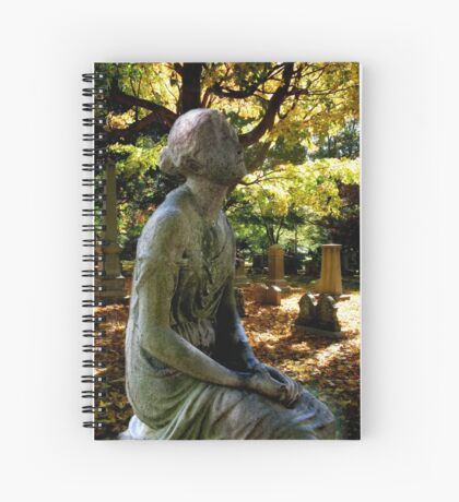 Look Upward Spiral Notebook