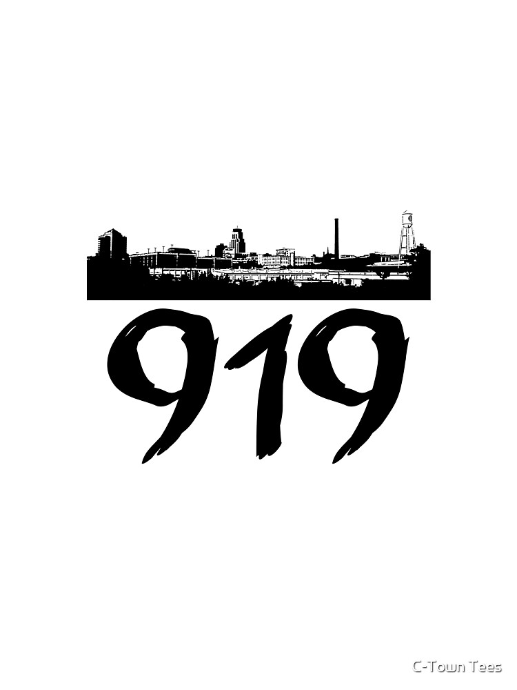 Durham - 919 (Black Logo) by Klay70