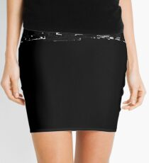 Virginia Beach - 757 (Black Logo) Mini Skirt