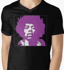 Purple Hendrix Men's V-Neck T-Shirt