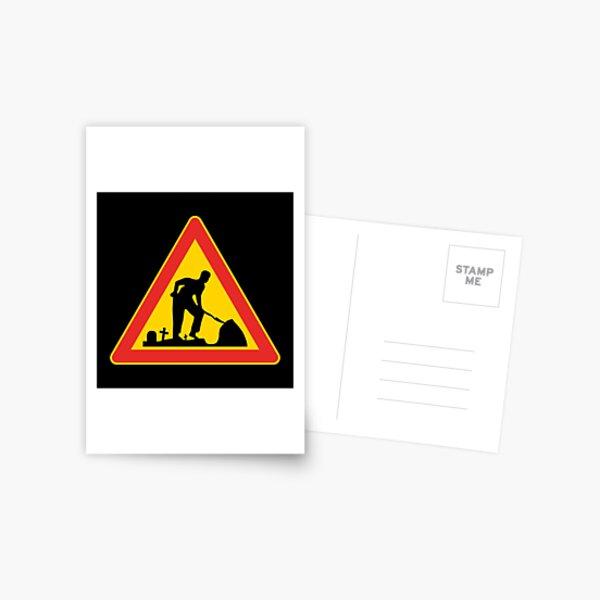 The Gravedigger Postcard