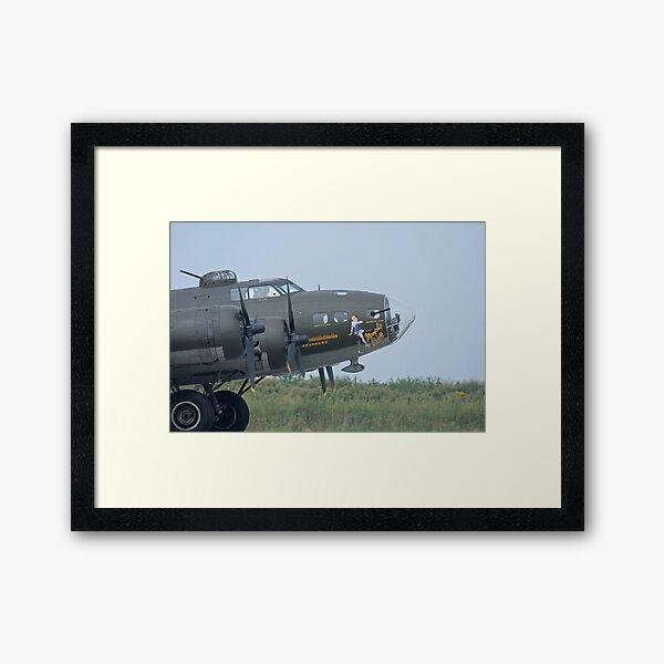 B-17 Memphis Belle Framed Art Print