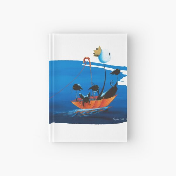 The Lake by Feroldi Hardcover Journal