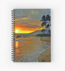 Maui Sunset 1 Spiral Notebook
