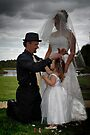 Wedding of Alana & Toney 3 by Michael Rowley
