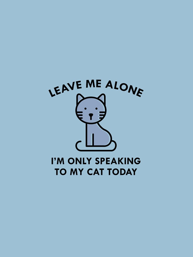 3 Only Speaking To My Cat - Men's T-S by teerich