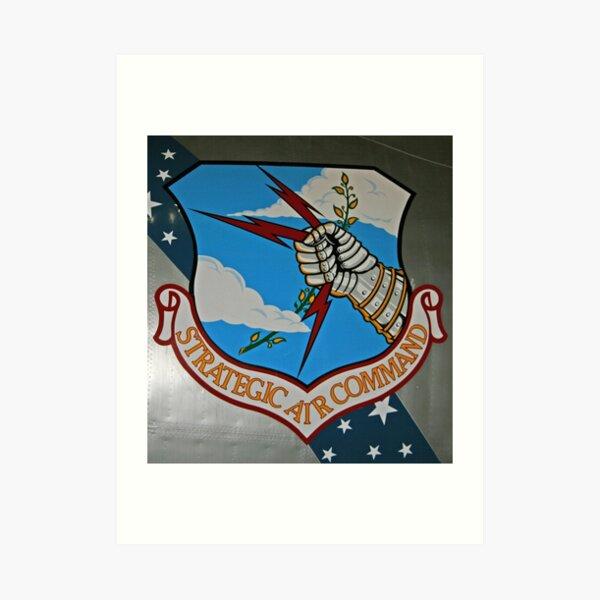 Strategic Air Command Art Print