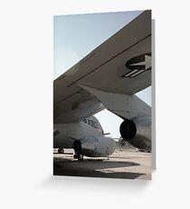 Airplane Wing Greeting Card