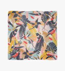 Tropical Birds Pattern II. Scarf