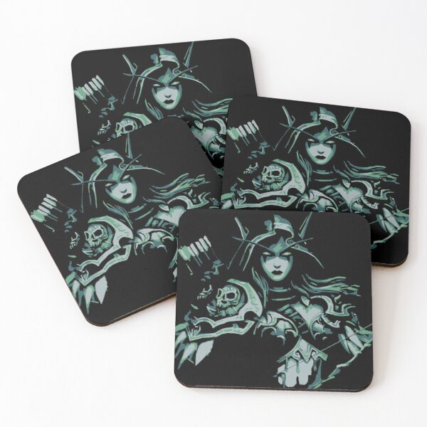 Sylvanas Windrunner Coasters (Set of 4)