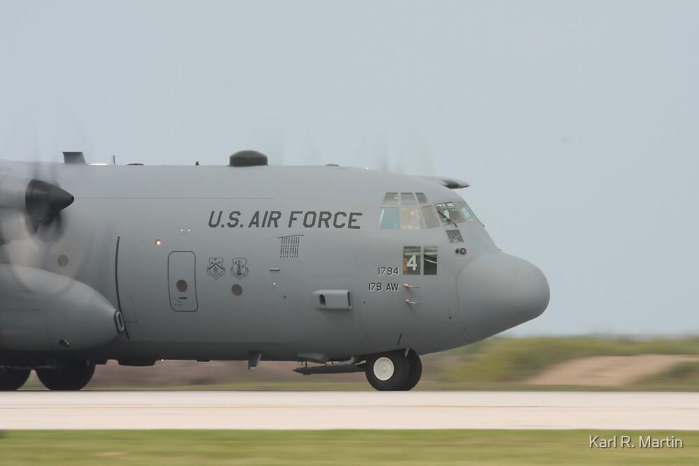 C-130 Hercules by Karl R. Martin