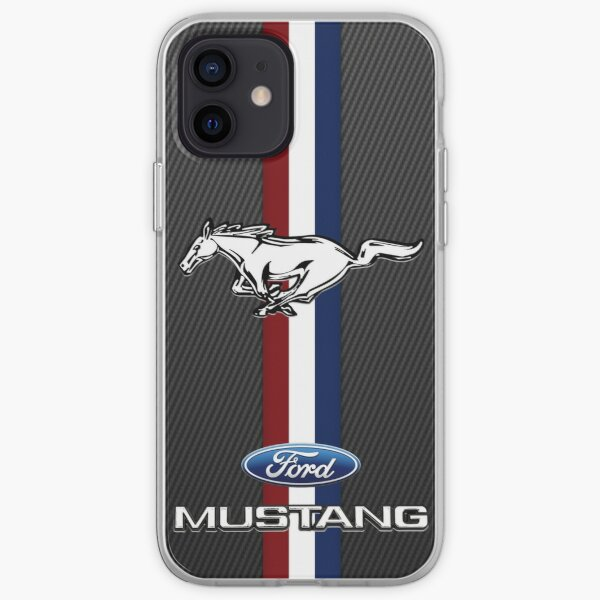 Ford Muscle Mustang Carbon iPhone Soft Case