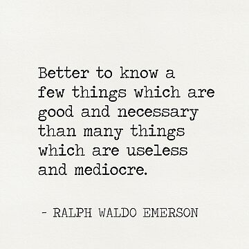 RALPH WALDO EMERSON QUOTES 8 by Pagarelov