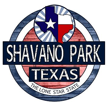 Shavano Park Texas rustic wood circle by artisticattitud