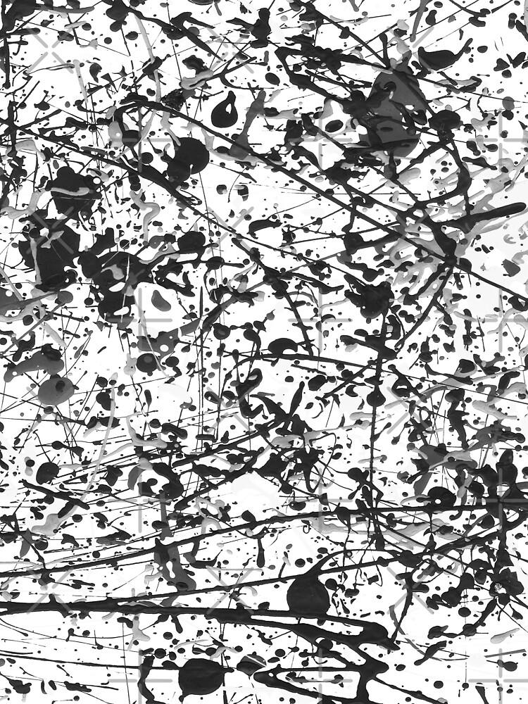 Mijumi Pollock Black and White by mijumi