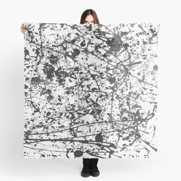 Mijumi Pollock Black and White Scarf