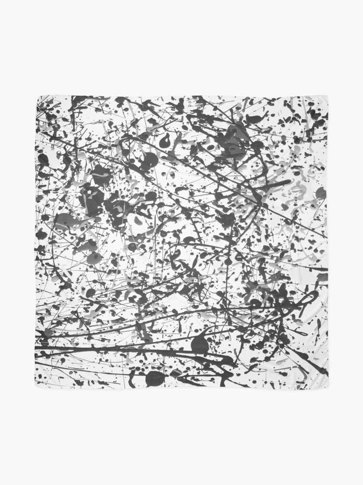Alternate view of Mijumi Pollock Black and White Scarf