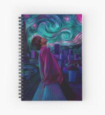 """Starry Night"" Spiral Notebook"