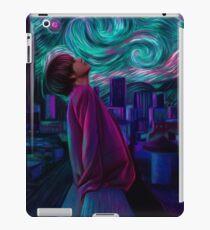 "Kim Taehyung ""Starry Night"" iPad Case/Skin"