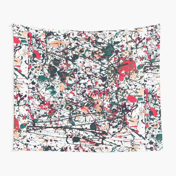 mijumi Pollock Red White Blue Tapestry