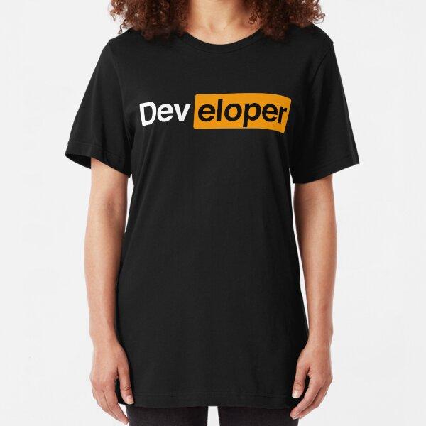 Developer Slim Fit T-Shirt